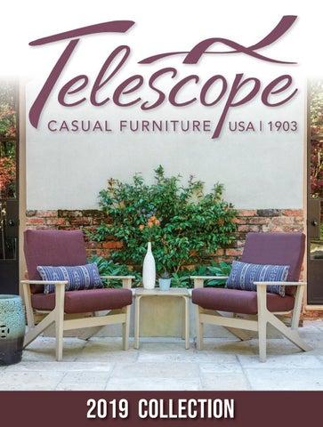 2019 telescope casual outdoor furniture