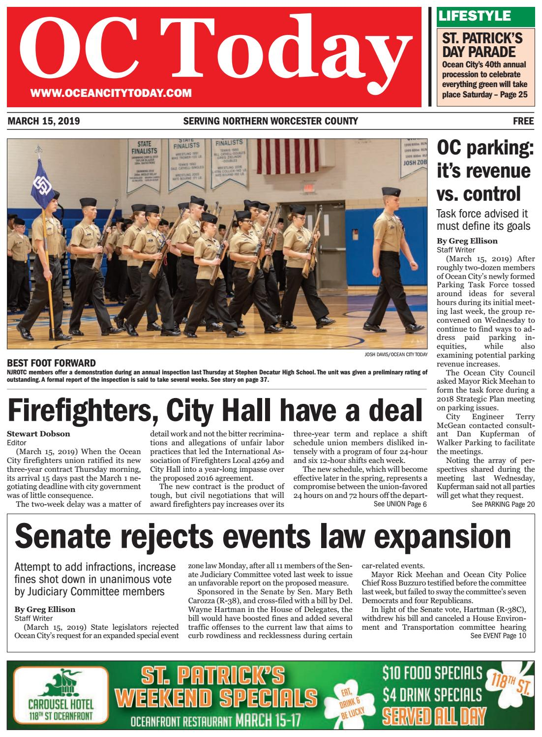 3/15/19 Ocean City Today by ocean city today - issuu