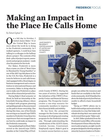 Page 43 of Frederick Focus | Making a Difference in the Place He Calls Home