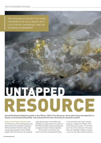 Page 8 of Troy Resources Guyana