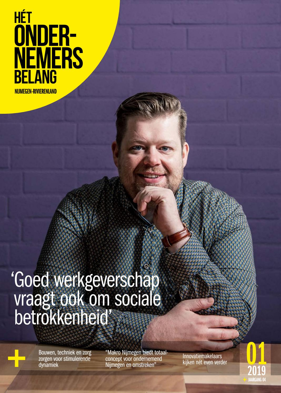 6f09e571fecf46 Het Ondernemersbelang Nijmegen-Rivierenland 1-2019 by Uitgeverij Novema -  issuu