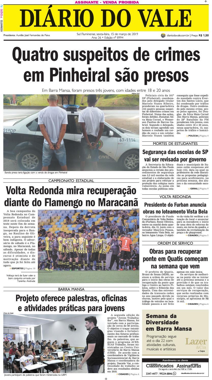 662bd18416 8994 - Diario - Sexta-feira - 15.03.2019 by Diário do Vale - issuu
