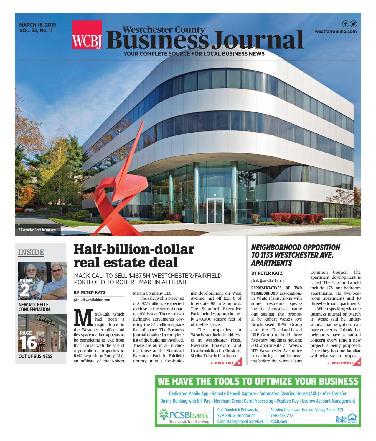 Design Bank 2 Zits Lugo.Westchester County Business Journal 031819 By Wag Magazine Issuu