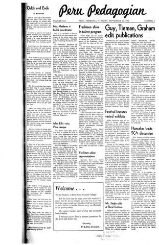 3e0d9b1d8cd4 1945-1946 Peru Pedagogian - issues 1-18 by Peru State College ...