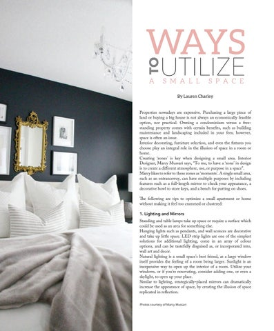 Page 82 of Ways to Utilize a Small Space