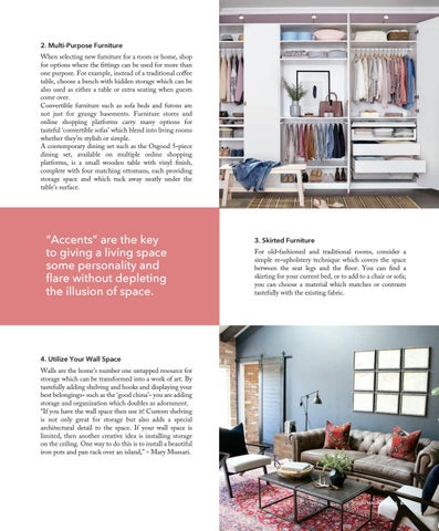 Page 83 of Ways to Utilize a Small Space