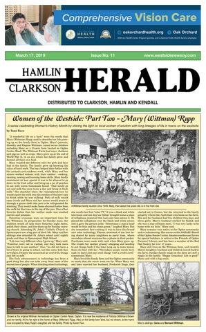 Hamlin-Clarkson Herald - March 17, 2019 by Westside News Inc