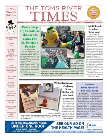 15cb80face2 2019-03-16 - The Toms River Times by Micromedia Publications Jersey ...