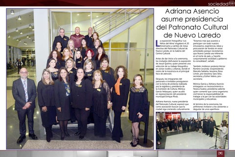 Page 9 of Patronato Cultural de Nuevo Laredo renueva directiva