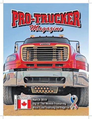 5a3389ac976 Pro-Trucker Magazine March 2019 by Pro-Trucker Magazine - issuu