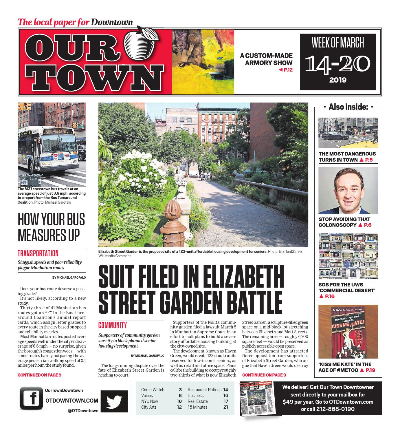Our Town Downtown - March 14, 2019 by OurTown Downtown - issuu