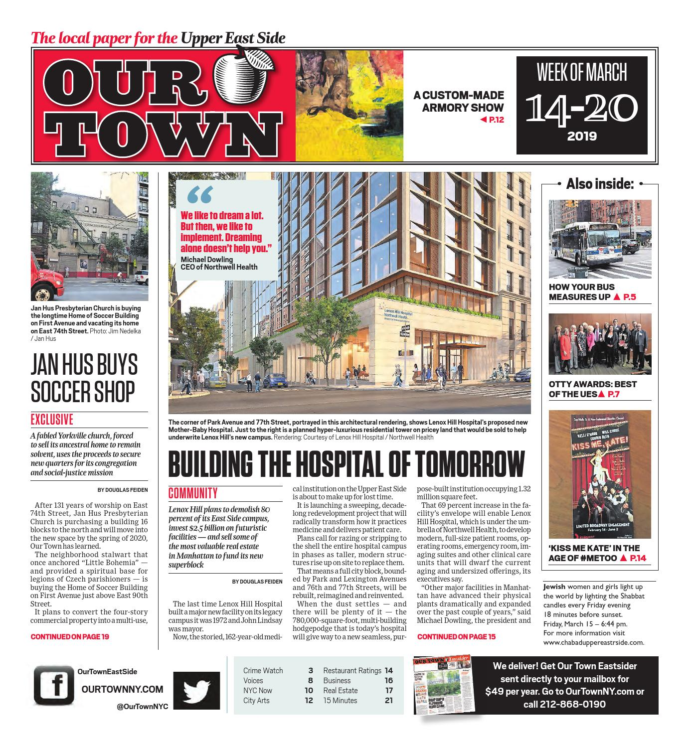 Our Town - March 14, 2019 by Our Town - issuu