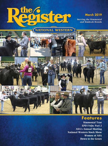the Register, March 2019 by American Simmental Publication