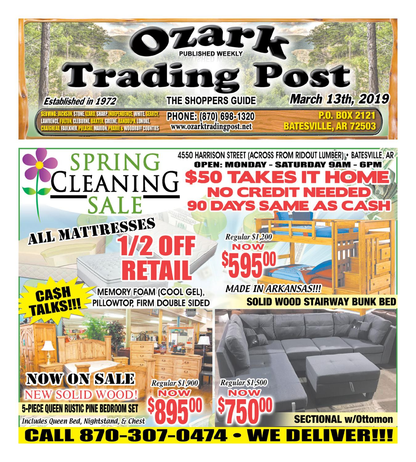 Surprising Ozark Trading Post March 13Th 2019 By Ozark Trading Post Caraccident5 Cool Chair Designs And Ideas Caraccident5Info
