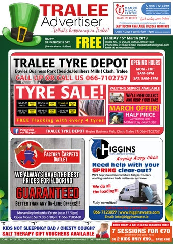Issue 10 march by TraleeAdvertiser - issuu