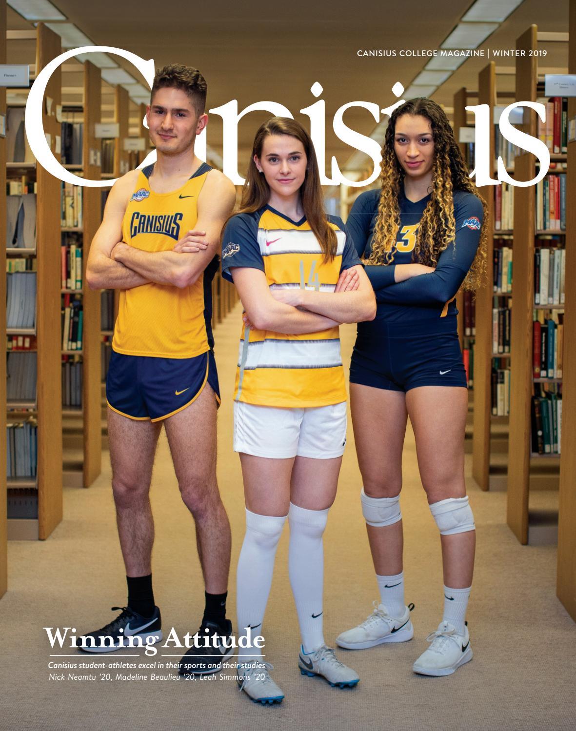 8eb56b0fc Canisius Magazine- Winter 2019 by Canisius College - issuu
