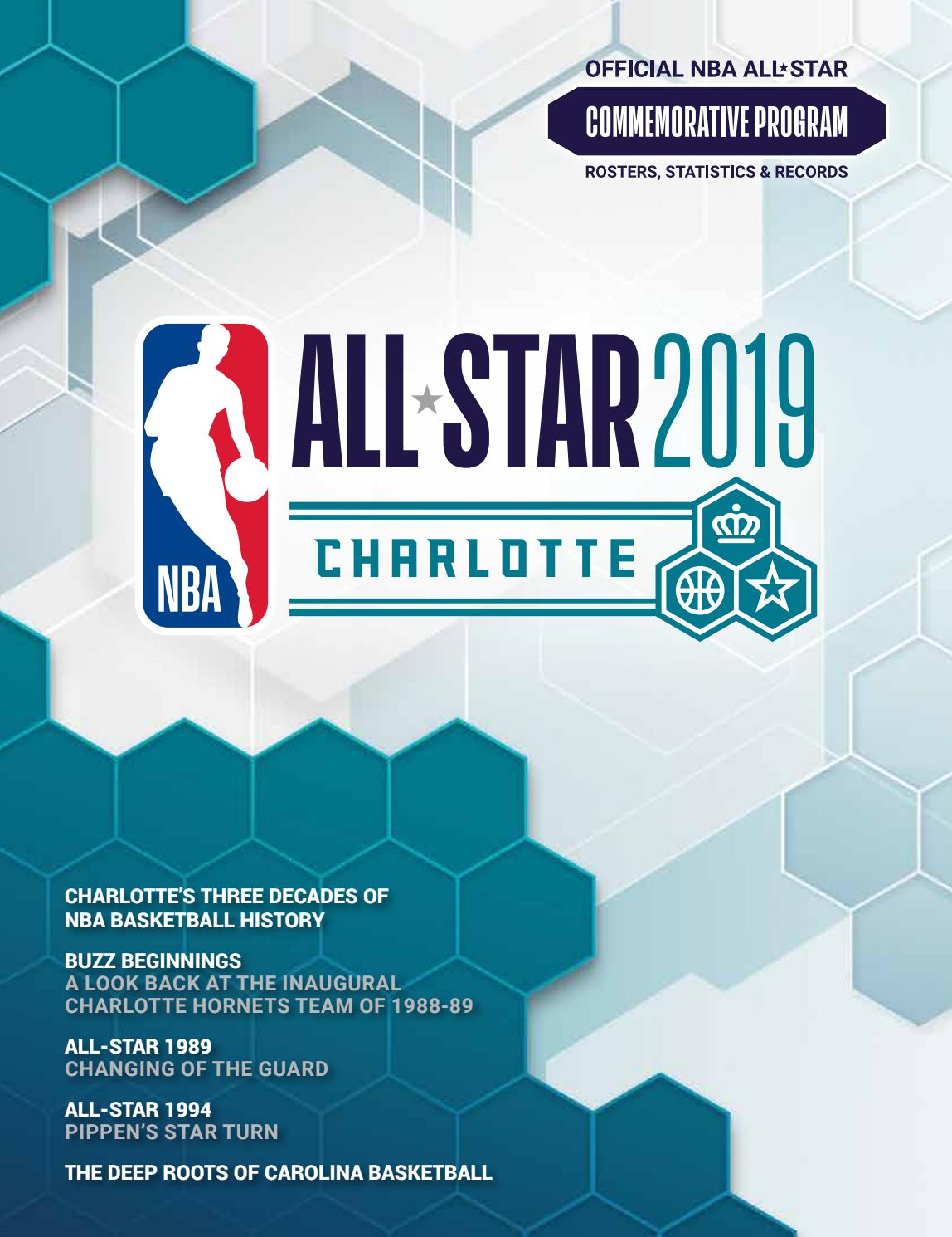 6f3ba19bce3 2019 NBA All-Star by HOOP - issuu