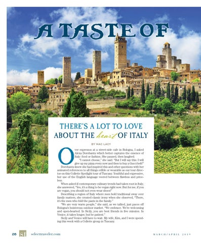 Page 26 of A Taste of Tuscany