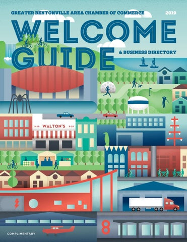 Greater Bentonville Area Chamber of Commerce Welcome Guide
