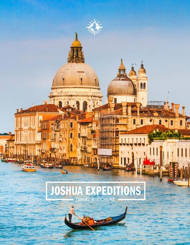 JE Travel Brochure by Joshua Expeditions - issuu