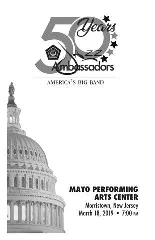 c199740013947 Program Book Insert - U.S. Army Field Band Jazz Ambassadors by Mayo ...