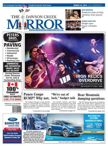 Dawson Creek Mirror 2019-0314 by The Mirror - issuu