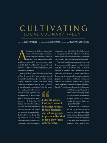 Page 27 of Cultivating Local Culinary Talent