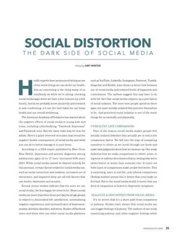Page 37 of Social Distortion: The Dark Side Of Social Media