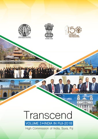 Transcend: VOLUME 3 - High Commission of India, Suva, Fiji by hc