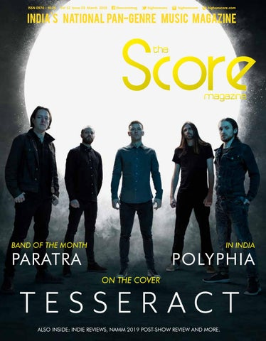 The Score Magazine March 2019 issue by The Score Magazine