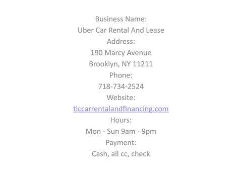 Uber Lease Car >> Uber Car Rental And Lease By Ubercarrentalandleasee Issuu
