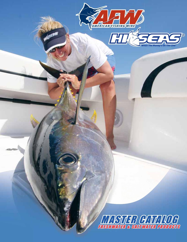 Hi-Seas GSQ-Q-15 Quattro Monofilament Line 6.8 kg 15 lb
