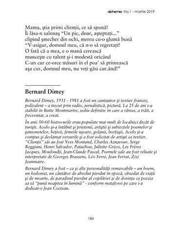 Page 187 of Bernard Dimey | Curul sora-mii (trad. Cindrel Lupe)