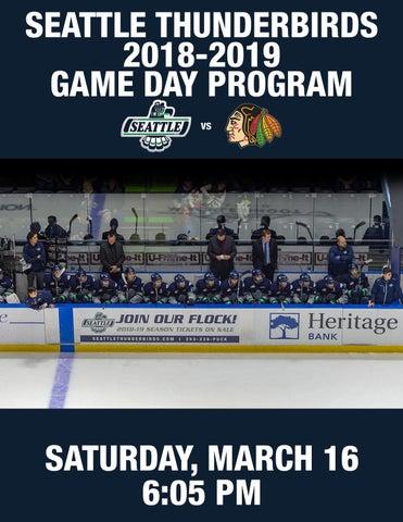 Game Day Digital Program vs  Portland Winterhawks by Seattle