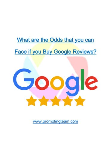 What are the Odds that you can Face if you Buy Google