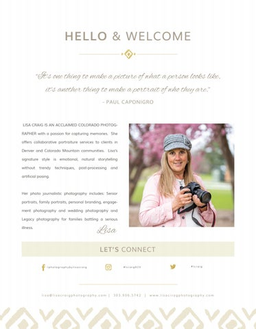 Page 3 of Hello & Welcome