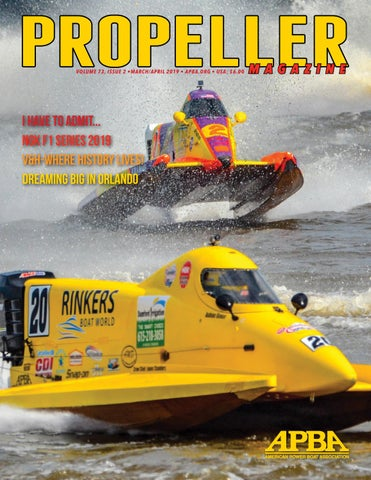 March/April 2019 Propeller Magazine by APBA - issuu
