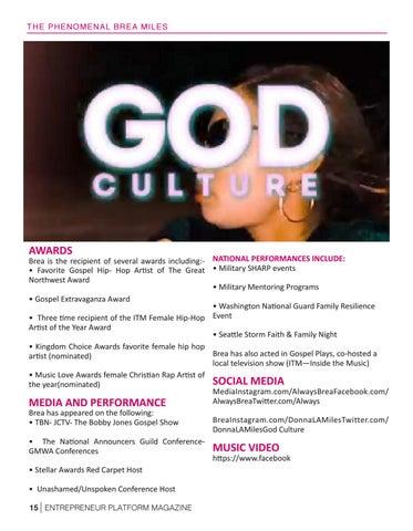 Page 17 of Christian Hip-Hop Artist Entrepreneur
