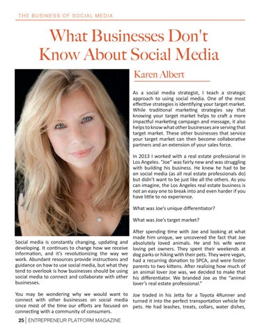 Page 27 of What Businesses Don't Know About Social Media