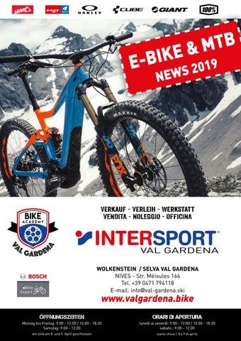 E Bike Mtb Shop Intersport Val Gardena By Armin Senoner Issuu