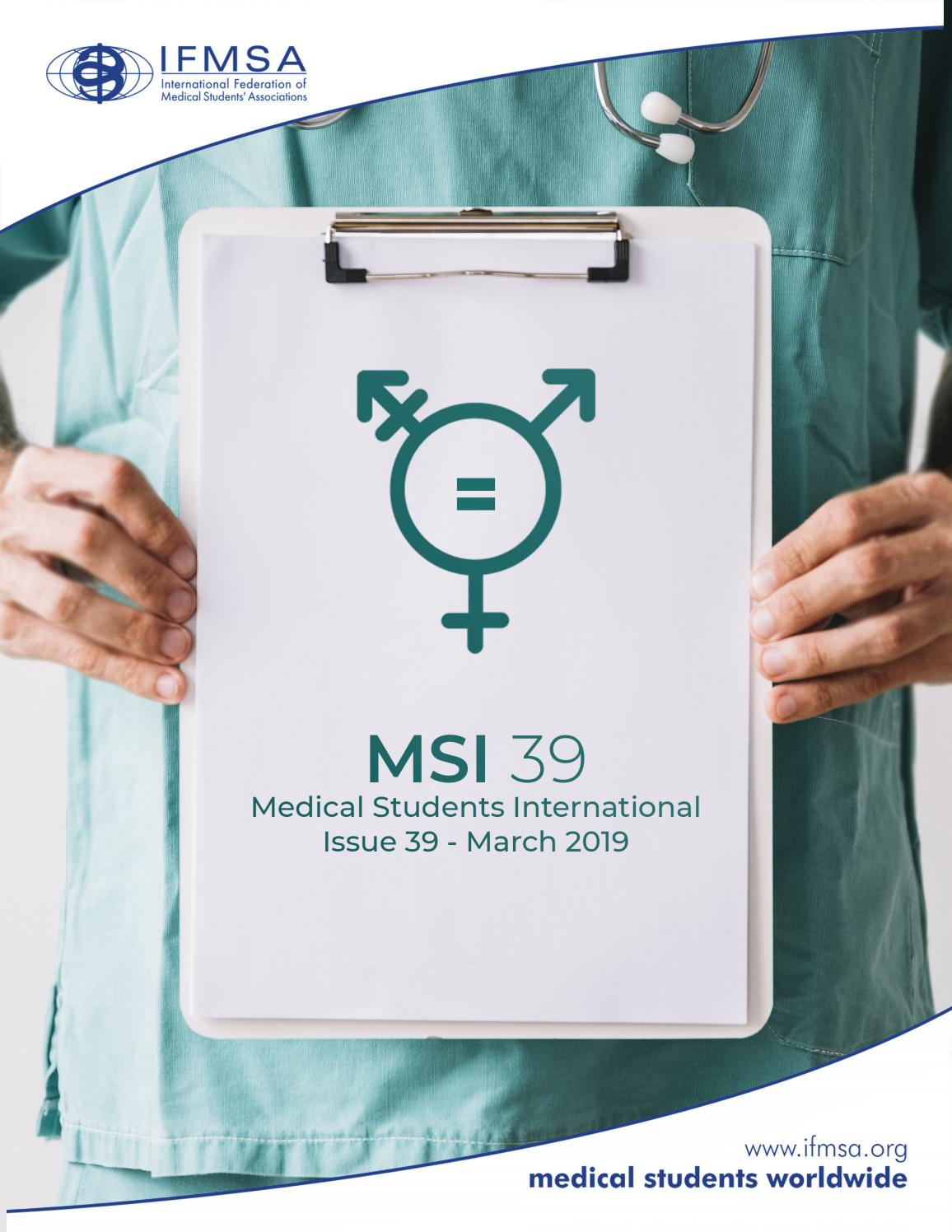 Msi 39 By International Federation Of Medical Students