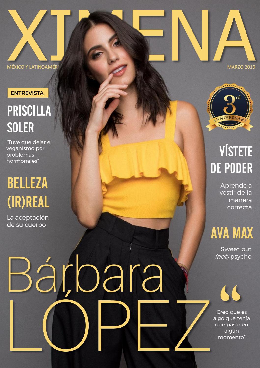 3cb486a93 Revista Ximena - Marzo 2019 | Bárbara López by Revista Ximena - issuu