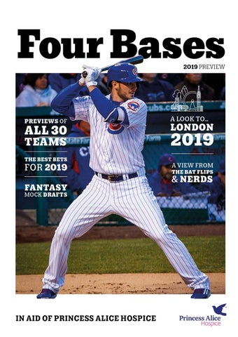 01874016d23 Four Bases  2019 MLB Season Preview by joelbailey752 - issuu
