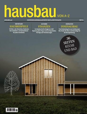 Hausbau Von A Z 2018 By Bl Verlag Ag Issuu