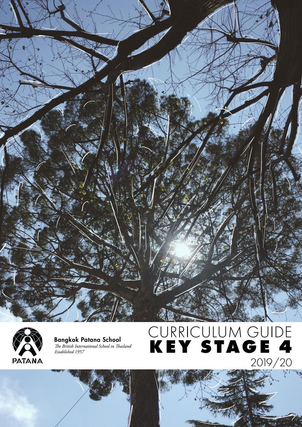 Key Stage 4 Curriculum Guide by Bangkok Patana School - issuu
