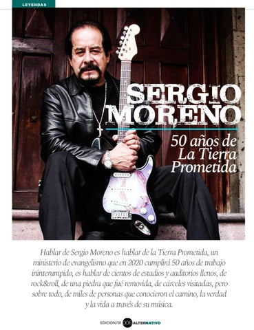 Page 8 of Sergio Moreno: 50 años de La Tierra Prometida