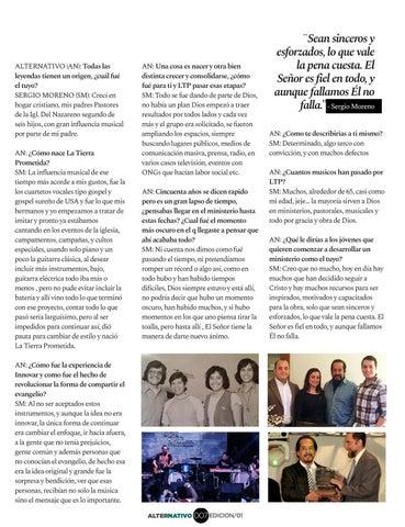 Page 9 of Sergio Moreno: 50 años de La Tierra Prometida