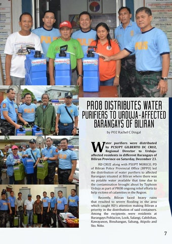 Page 7 of to Urduja-affected Barangays of Biliran