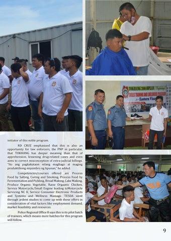 Page 9 of for Drug Surrenderers in Eastern Visayas