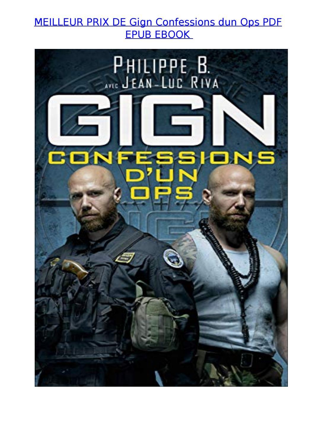 Meilleur Prix De Gign Confessions Dun Ops Pdf Epub Ebook By